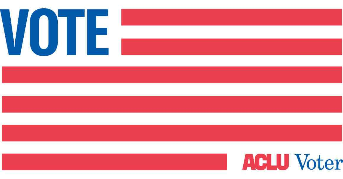 Pledge to be an ACLU voter