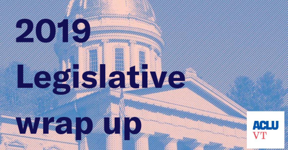 legislative wrap up